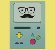 Beemo Mustache - Adventure Time Kids Tee