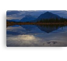The Morning Blues Canvas Print
