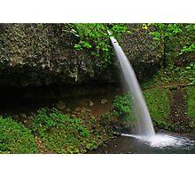 Ponytail Falls, Columbia River Gorge, Oregon Photographic Print
