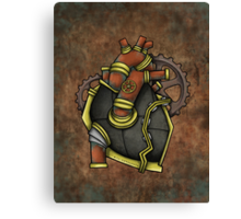 Iron Heart Canvas Print