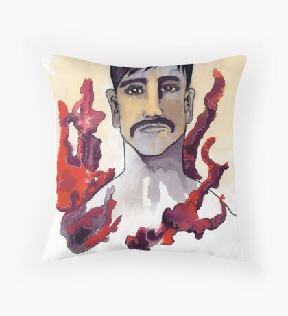 Just a Man Throw Pillow