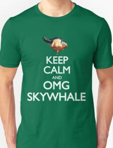 Keep Calm and OMG SKYWHALE Unisex T-Shirt