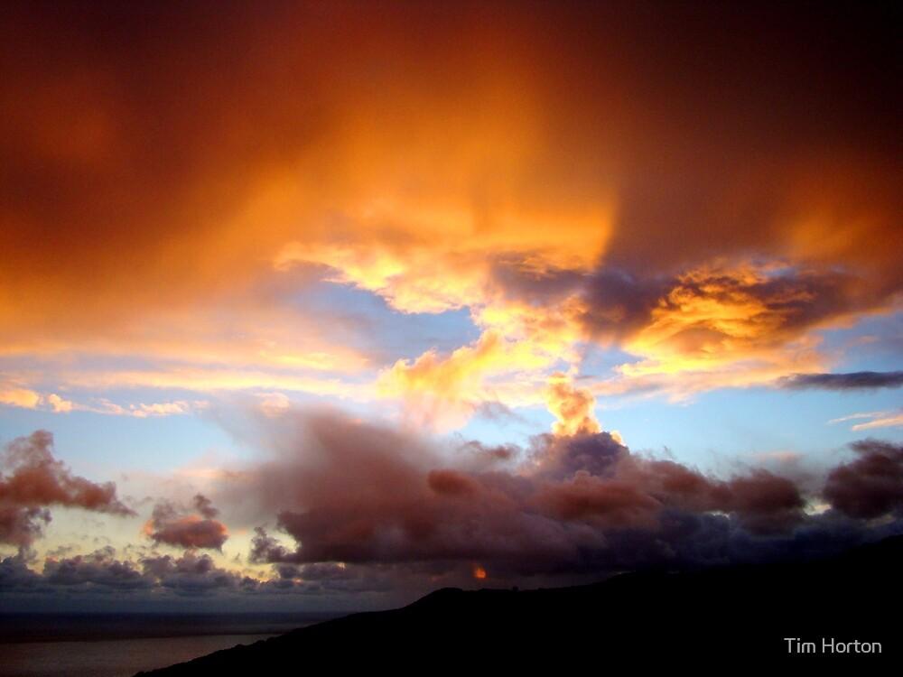 malibu sunset 1 by Tim Horton