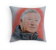 That man in red.. Throw Pillow