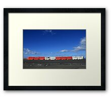 We All Put Up Barriers Framed Print