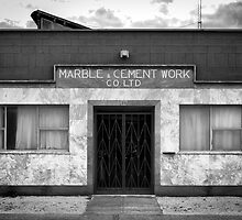 Marble & Cement Work Co. Ltd. Adelaide. by Nicholas Griffin