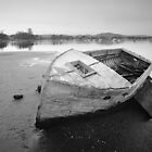 Rustic Boat Woy Woy by Brett Thompson