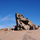 Remarkable Rocks ~ Kangaroo Island by roger smith