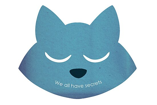 """""""We All Have Secrets"""" Minimalist Style by smear benson"""
