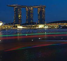 Marina Bay Sands , Singapore  by Susan  Chakraborty