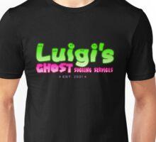 Luigi's Ghost Sucking Services ~ Green Variant Unisex T-Shirt