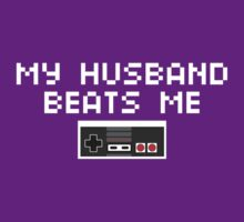 My Husband Beats Me (Light Text) by CVIII