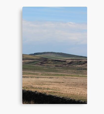 Northumberland Mountain's  Canvas Print