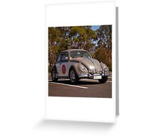 Volkswagen Type One Greeting Card
