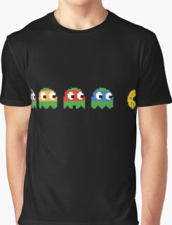 Pac-Man - Tennage Mutant Ninja Turtles Graphic T-Shirt