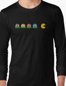 Pac-Man - Tennage Mutant Ninja Turtles Long Sleeve T-Shirt