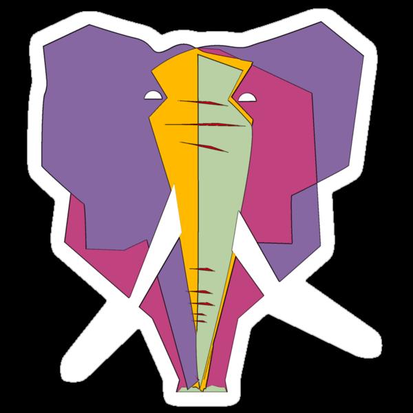 Elephant - Graphic T shirt by BlueShift