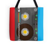 Commodore 64 Cassette Tape Tote Bag