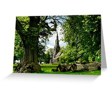 The Church of St Mary Greeting Card