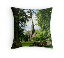 The Church of St Mary Throw Pillow
