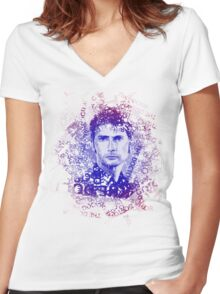 The Doctor Paradox Women's Fitted V-Neck T-Shirt