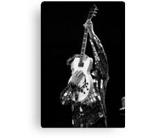 Chris Isaak & Guitar Canvas Print