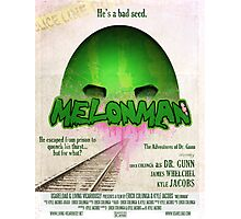 Melonman Poster Photographic Print