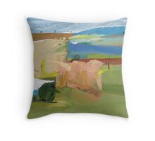 Idyll study Throw Pillow