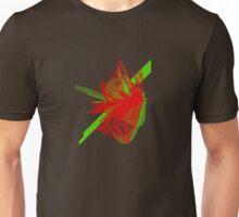 Diamonte Green/Red Unisex T-Shirt
