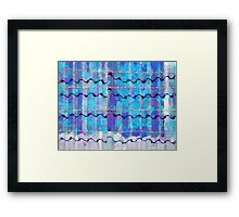 The Barbed Wire Beat Framed Print