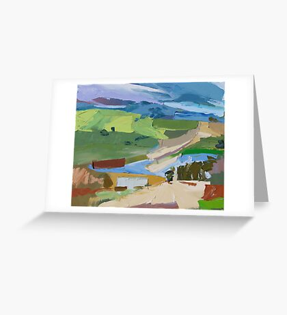 Back Road, Salters Greeting Card