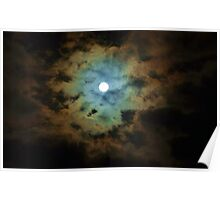 Full Moon Skyscape May 2013 Poster
