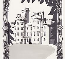 Cluny Castle by Esther Green