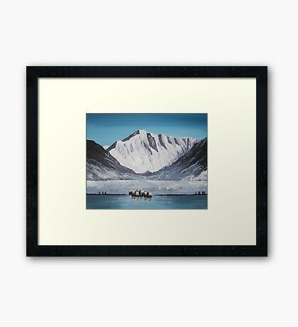 Himalayan Pass Framed Print