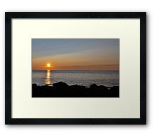 Cape Breton Sunset Framed Print