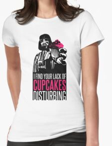 Darth Vader's cupcake Womens Fitted T-Shirt