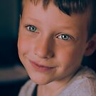 Child Portrait - Coy by Patrick Metzdorf