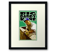 """HIP-HOP ICONS: BIG DADDY KANE"" Framed Print"