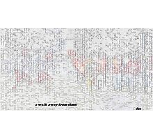 5669 0 water color pixelate pastel sketch s Photographic Print