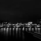 View from the Millennium Bridge - B&W  by rsangsterkelly