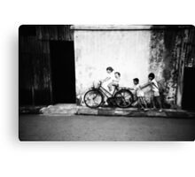 Two Pairs - Lomo Canvas Print