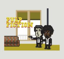 Pixel Pulp Fiction by Omar Omeir