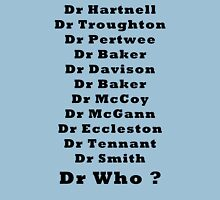 Dr Who Will be the next one  Unisex T-Shirt
