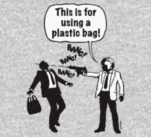 Cartoon: Anti-Plastic Waste Activist / Anti-Plastikmüll-Aktivist by MrFaulbaum