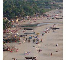 Arambol, from above, Goa, India Photographic Print