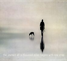 the journey of a thousand miles begins with one step by Ingz