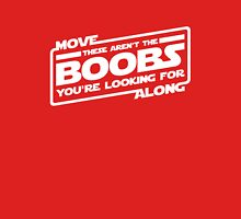 Move Along These Aren't The Boobs You're Looking For Womens Fitted T-Shirt