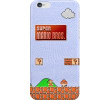 Super Mario Canvas iPhone 5 Case iPhone Case/Skin