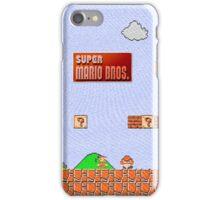 Super Mario Canvas iPhone 5 Case iPhone Case/Skin