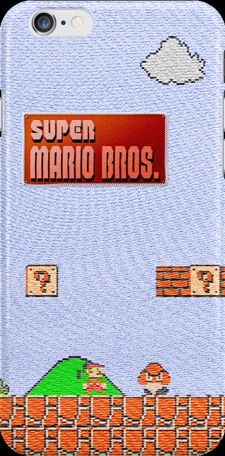 Super Mario Canvas iPhone 5 Case by logiccsu